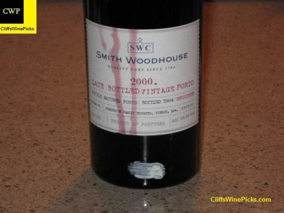 2000 Smith Woodhouse Porto Late Bottled Vintage