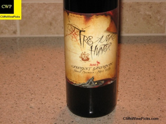 2005 Treasure Hunter Wines Cabernet Sauvignon Howell Mountain