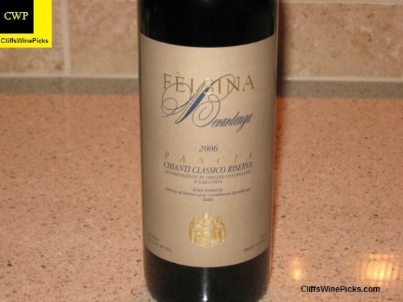 2006 Fattoria di Felsina Berardenga Chianti Classico Riserva Rancia