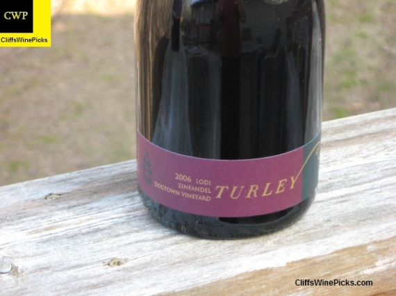 2006 Turley Zinfandel Dogtown Vineyard