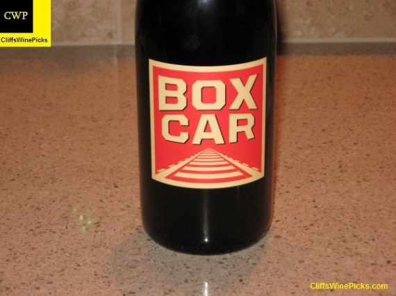 2007 Red Car Syrah Boxcar Sonoma Coast