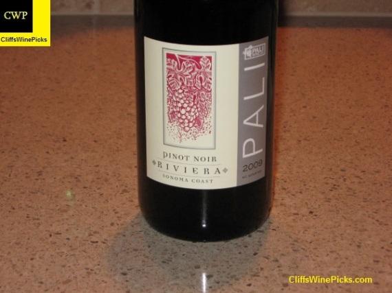 2009 Pali Wine Co Pinot Noir Riviera