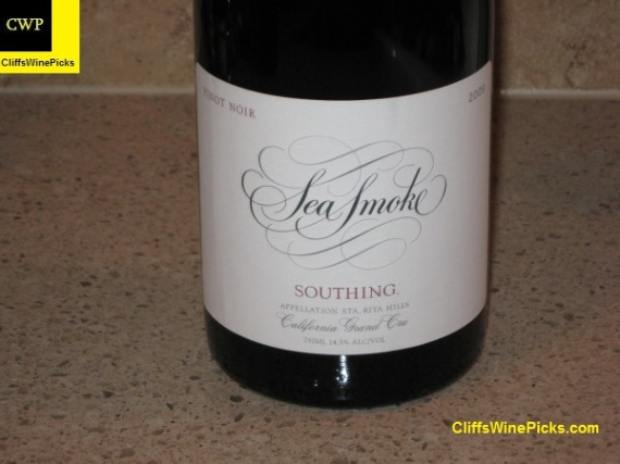 2009 Sea Smoke Pinot Noir Southing