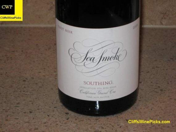 2009 Sea Smoke Pinot Noir Southing