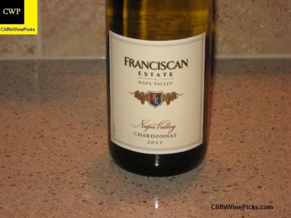 2011 Franciscan Estate Chardonnay