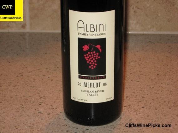 2006 Albini Family Vineyards Merlot