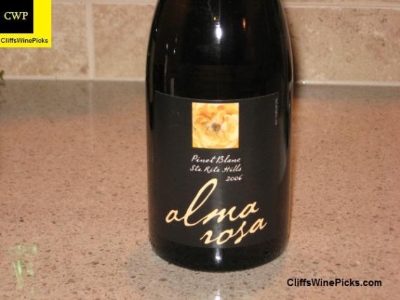 2006 Alma Rosa Pinot Blanc Santa Rita Hills