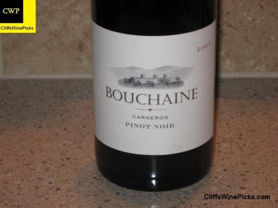 2007 Bouchaine Pinot Noir Carneros