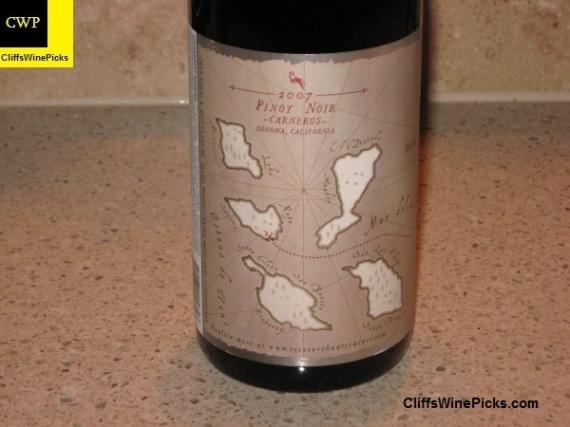 2007 Treasure Hunter Wines Pinot Noir Carneros2