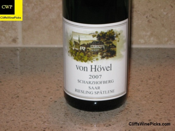 2007 Von Hovel Scharzhofberger Riesling Spatlese