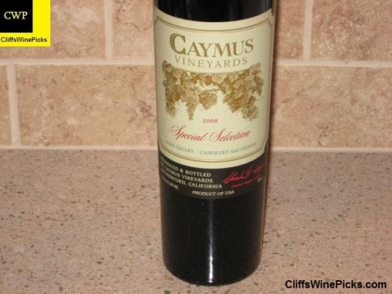 2008 Caymus Cabernet Sauvignon Special Selection
