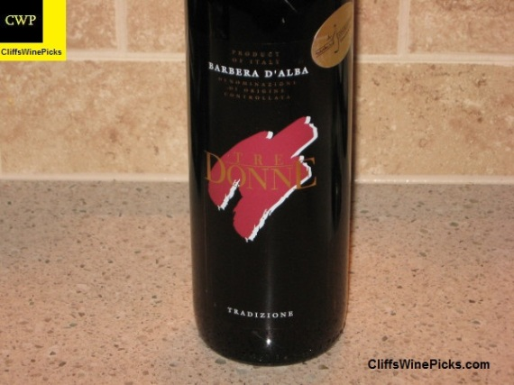 2008 Tre Donne Barbera d'Alba d'Arc
