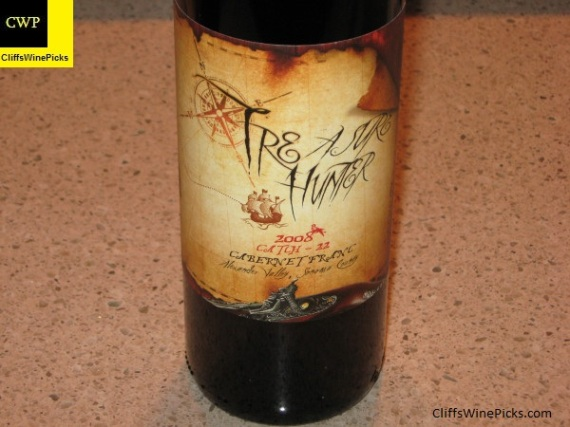 2008 Treasure Hunter Wines Cabernet Franc Catch 22