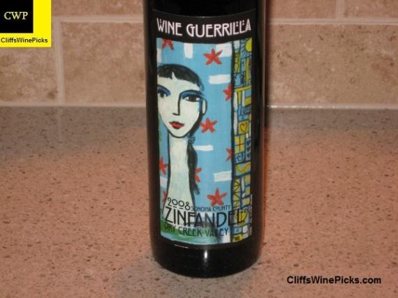 2008 Wine Guerrilla Zinfandel Dry Creek Valley