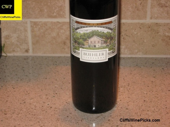 2009 Buehler Vineyards Zinfandel