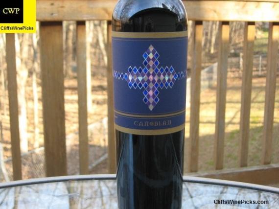 2009 Cellers Can Blau Montsant Can Blau