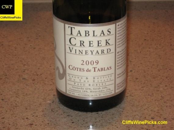 2009 Tablas Creek Cotes de Tablas