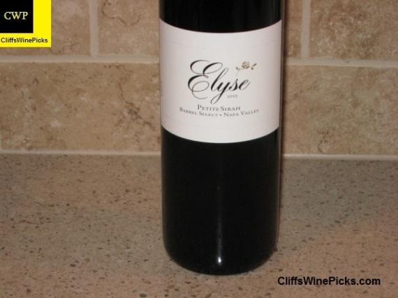 2010 Elyse Petite Sirah Barrel Select 3