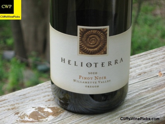 2010 Helioterra Pinot Noir Willamette Valley