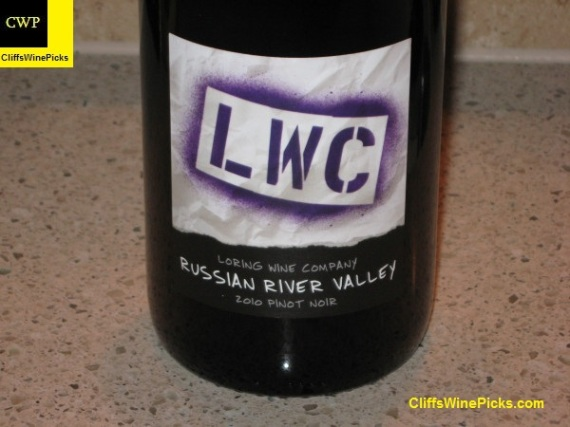 2010 Loring Wine Company Pinot Noir Russian River Valley