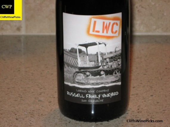 2011 Loring Grenache Russell Family Vineyard