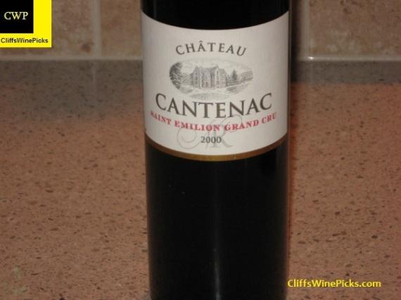 2000 Château Cantenac