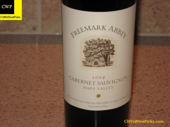 2004 Freemark Abbey Cabernet Sauvignon