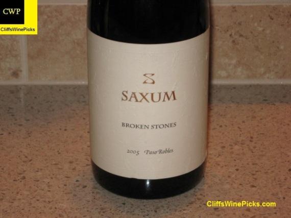 2005 Saxum Broken Stones