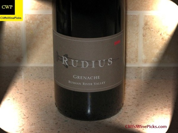 2006 Rudius Russian River Valley Grenache