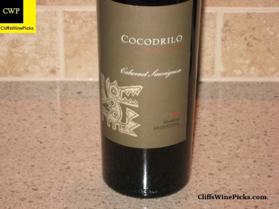2006 Viña Cobos Cabernet Sauvignon Cocodrilo