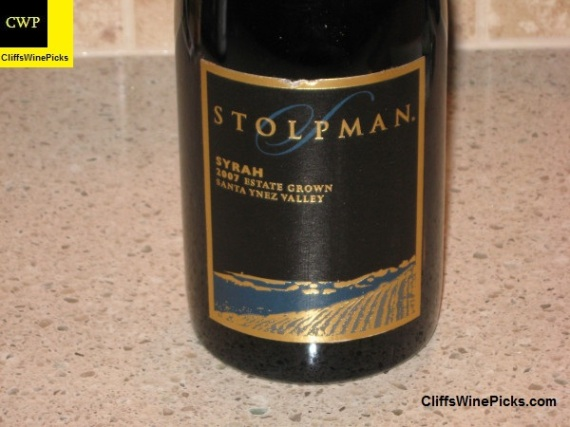 2007 Stolpman Syrah Estate Grown