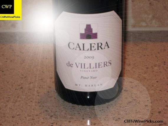 2009 Calera Pinot Noir de Villiers Vineyard