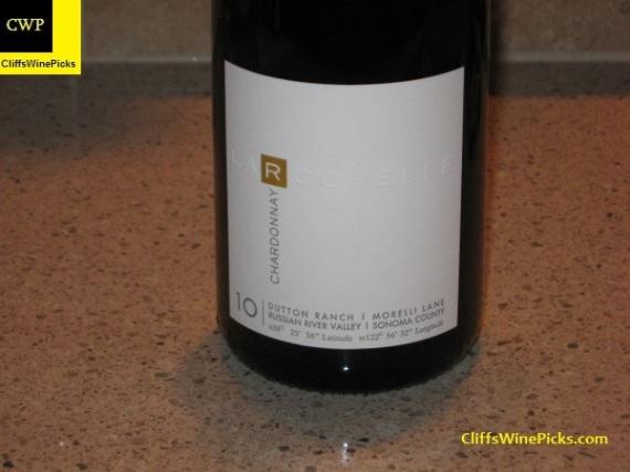 2010 La Rochelle Chardonnay Morelli Lane Dutton Ranch