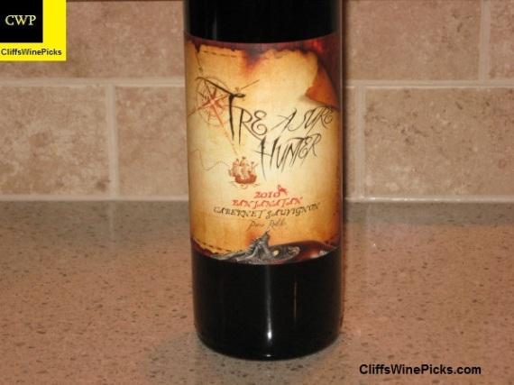 2010 Treasure Hunter Wines Cabernet Sauvignon Panjanatan Paso Robles