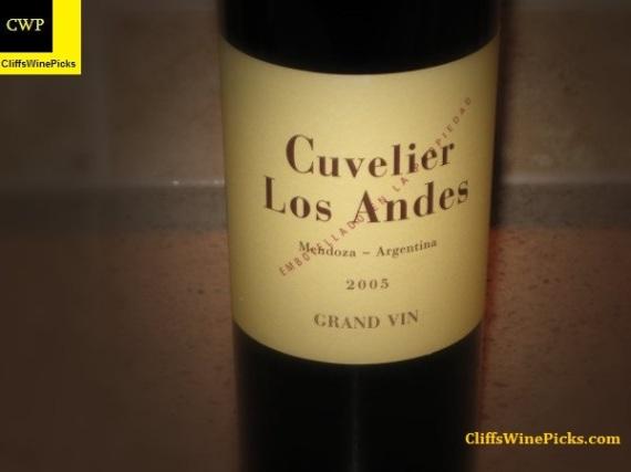 2005 Cuvelier de Los Andes (Clos de los Siete) Grand Vin