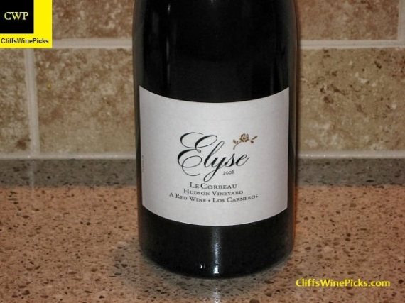 2008 Elyse Le Corbeau Hudson Vineyard
