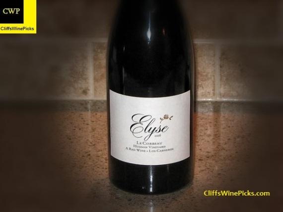 2008 Elyse Le Corbeau Hudson Vineyard2