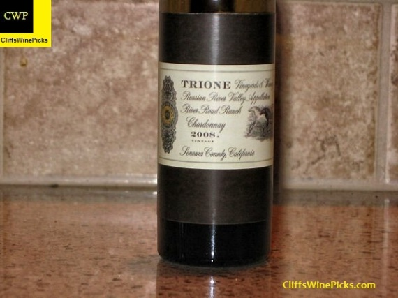 2008 Trione Chardonnay River Road Ranch