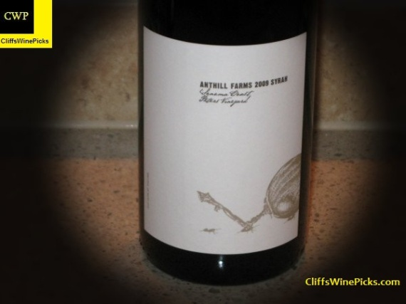 2009 Anthill Farms Syrah Peters Vineyard