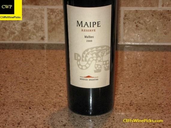 2009 Maipe Malbec Reserve