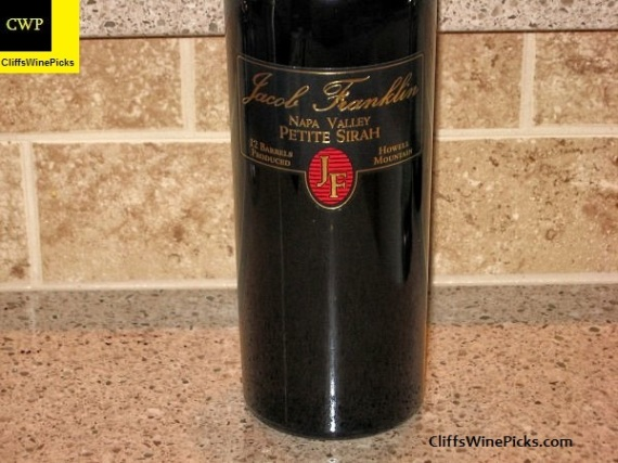 2002 Jacob Franklin Petite Sirah Howell Mountain