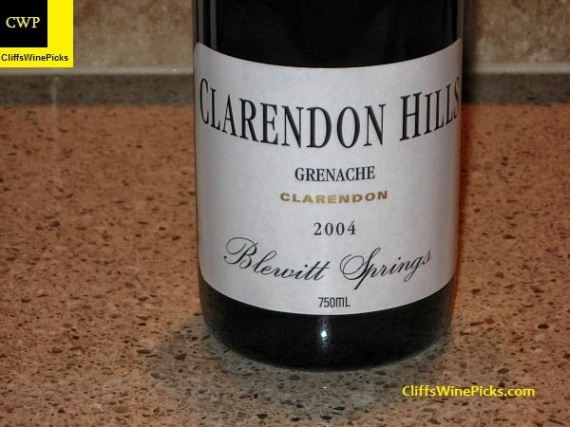 2004 Clarendon Hills Grenache Old Vines Blewitt Springs