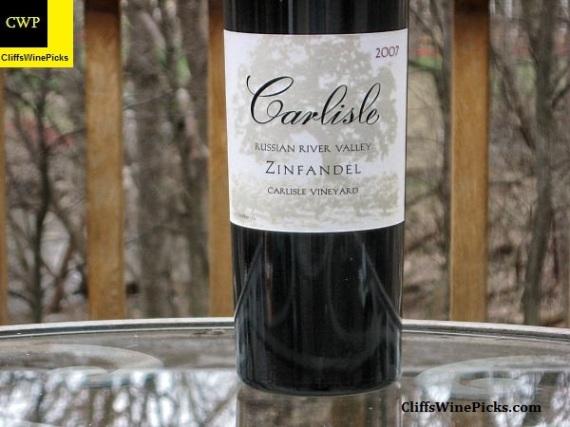 2007 Carlisle Zinfandel Carlisle Vineyard