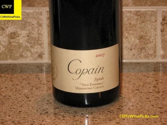 2007 Copain Syrah Tous Ensemble