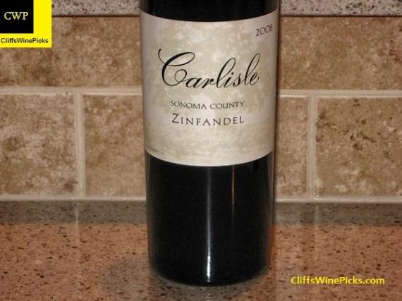 2008 Carlisle Zinfandel Sonoma County