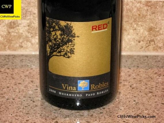 2008 Viña Robles RED4 Huerhuero