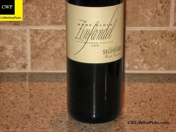 2009 Seghesio Family Vineyards Zinfandel Home Ranch