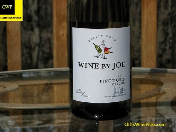 2011 Wine By Joe Pinot Gris Really Good
