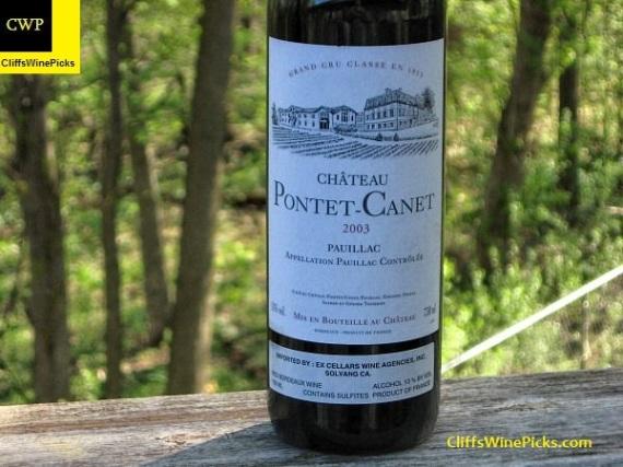 2003 Chateau Pontet-Canet