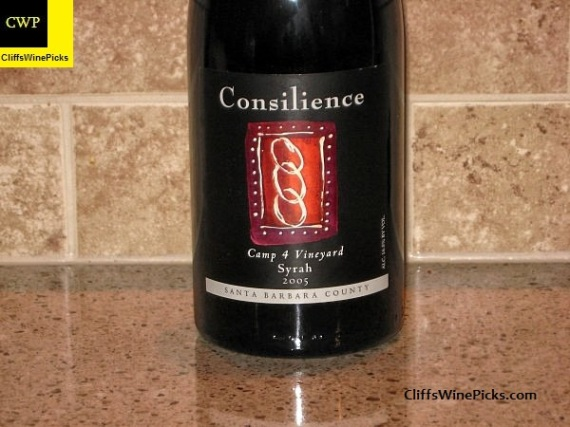 2005 Consilience Syrah Camp 4 Vineyard